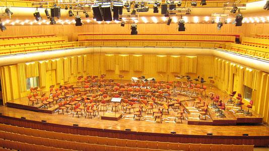 Berwaldhallen akustikkonsultation