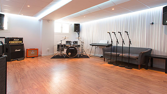 Molotov Studios akustikkonsultation
