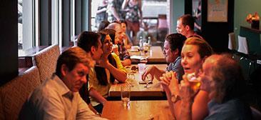 referenser inom akustik för restauranger