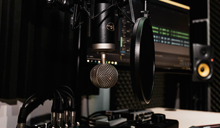 studiomiljö