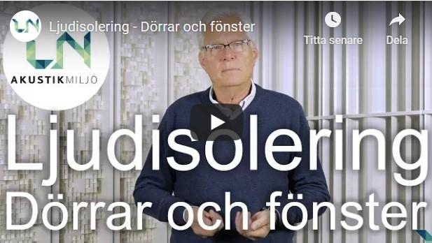VIDEO 3 LJUDISO DÖRR O FÖNST