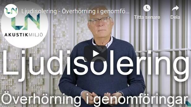 VIDEO 4 LJUDISO ÖVERHÖ